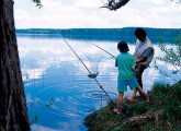 Рыбалка в пансионатах Подмосковья