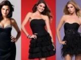 Выбираем вечерние короткие платья