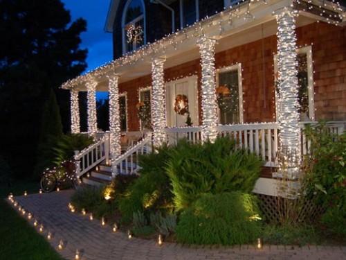 Новогодний дом