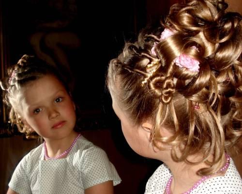 Несколько слов о детских причёсках