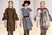 Модные вязаные платья 2013