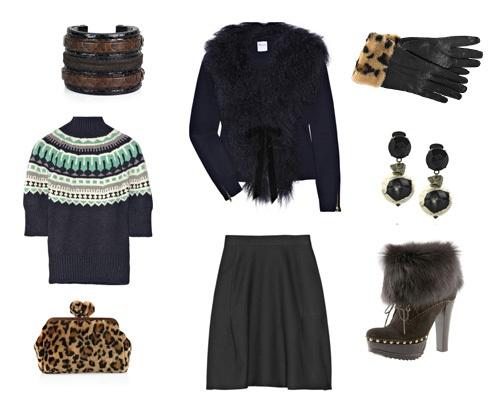 Что модно носить зимой 2013 года?