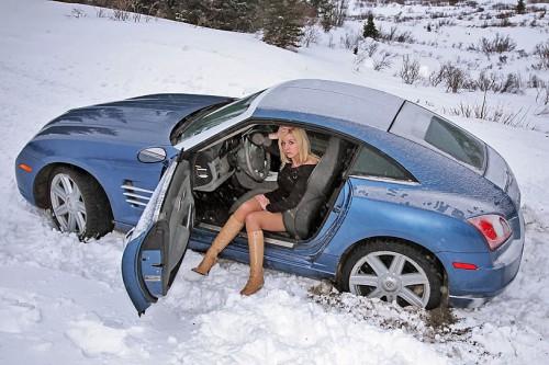 Зимнее вождение авто