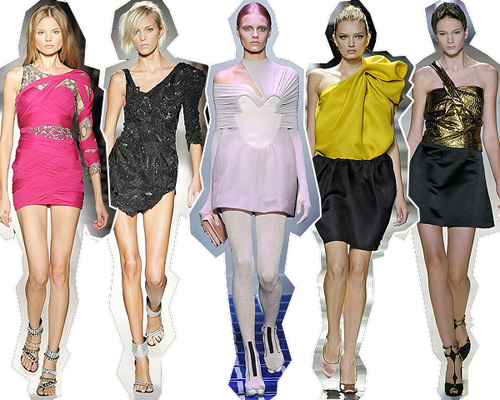 Женские платья - мода 2013