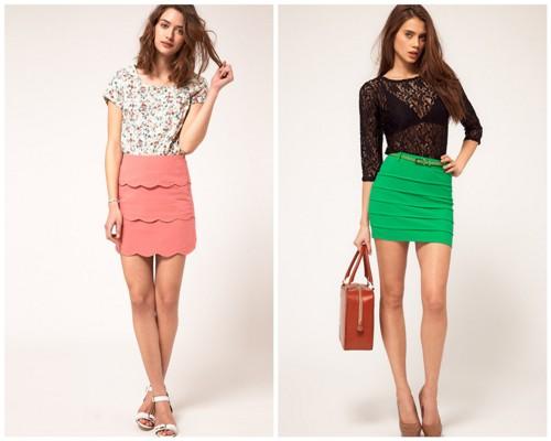 Мини-юбки | Короткие