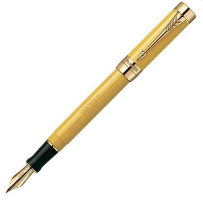 Золотое перо из премиум-коллекции: перьевая Parker Premier Deluxe