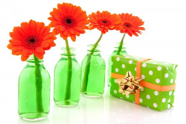 Цветочные подарки