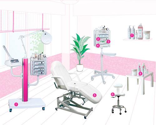 Что должно быть в кабинете у косметолога?