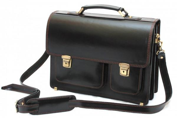 Кожаные портфели - незаменимые аксессуары деловых и успешных людей