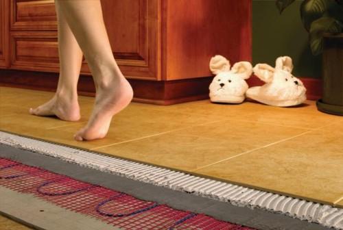 Теплые полы: тепло в доме распределится рационально
