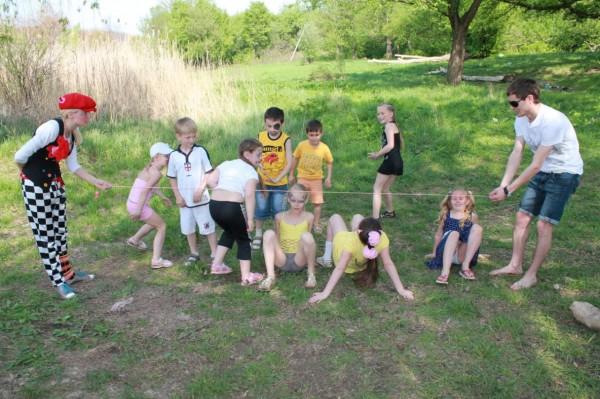 детские праздники на природе