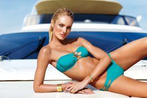 Купальные костюмы весны-лета 2014: ключевое цветовое решение