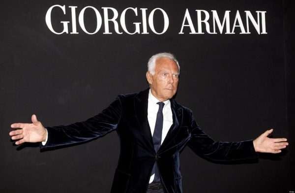 Фото основателя - Джорджио Армани
