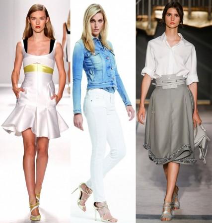 Выбор одежды белого цвета: какие бывают вариации?