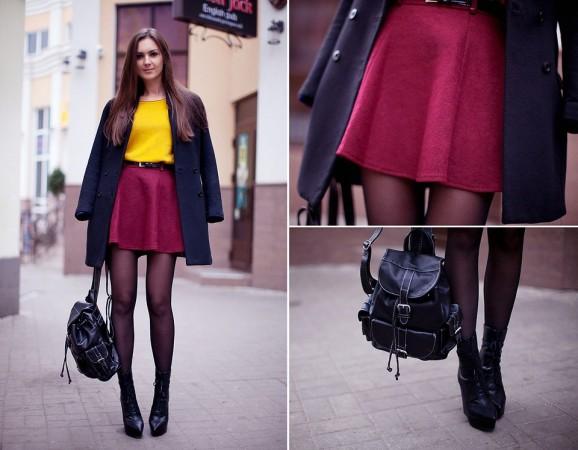 Черное женское пальто – стильный must have