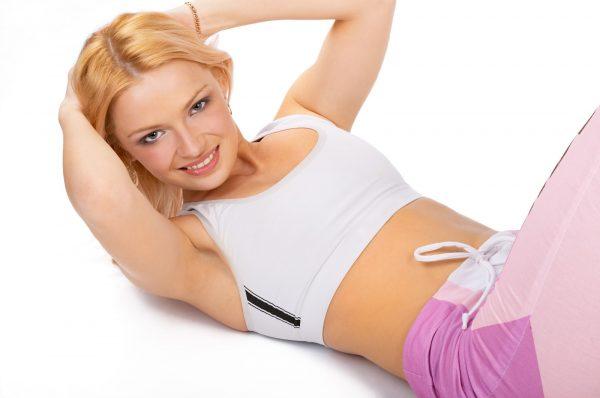 Пресс для девушек: упражнения