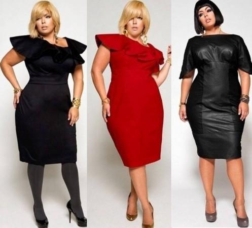 """Советы по выбору платья для девушек в """"форме"""""""