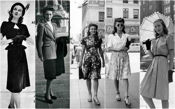 Мода 30-х годов