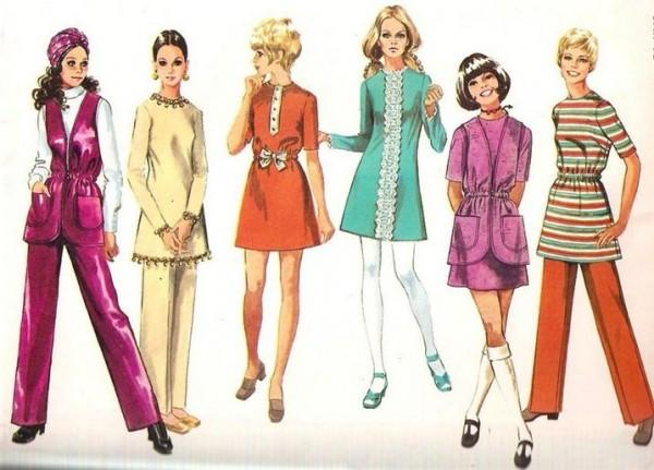Не совсем забытые семидесятые. Мода 70-х