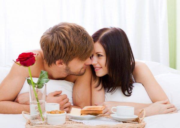 Первая страстная ночь после свадьбы