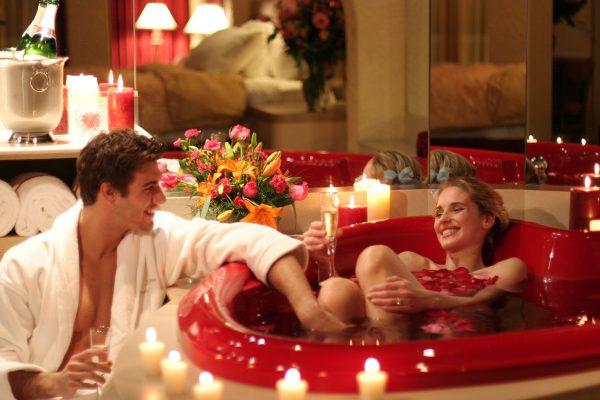 Романтика в брачную ночь