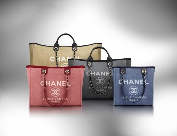 Тренд сезона - пляжная сумка Chanel