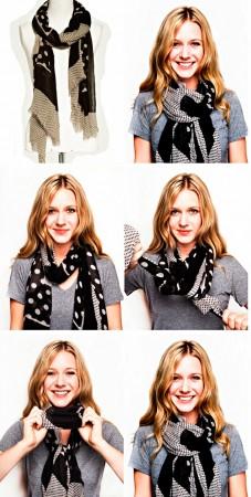 Правильно завязанный шарф - залог модного и стильного образа
