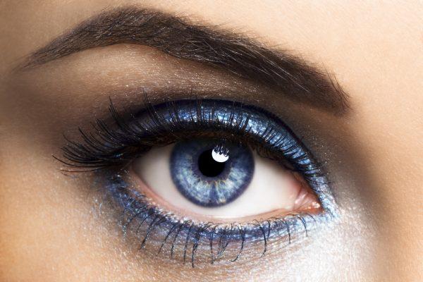 Правильный макияж для голубоглазых