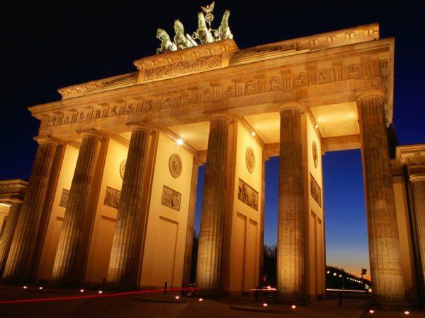 Берлинские «ворота мира»