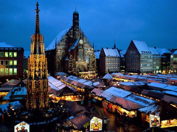 Самый немецкий город Нюрнберг
