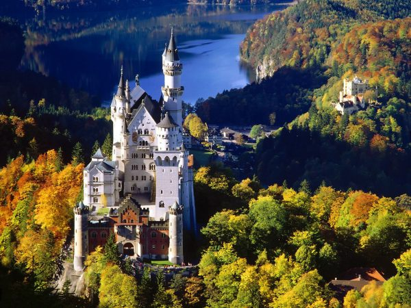 Замок сказочного короля — Нойшванштайн