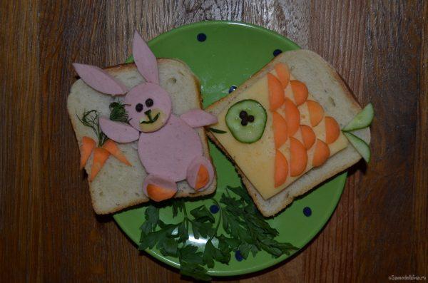 Не вредно ли кормить ребёнка бутербродами?
