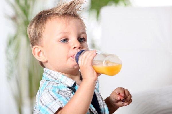 Соки в питании малышей
