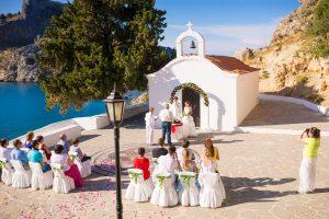 Свадьба на Родосе: богатство выбора на фоне памятников Античности
