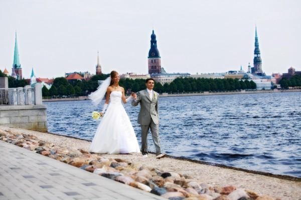 Свадьба в Латвии: история моей любви