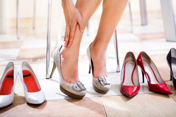 Вред каблуков во время беременности