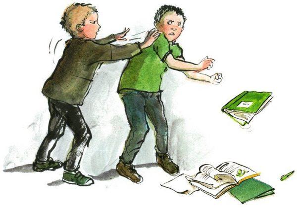 Агрессия в школе и на работе