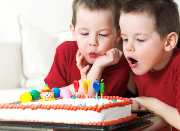 Как организовать День Рождение для близнецов