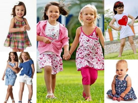 Летний гардероб для девочек