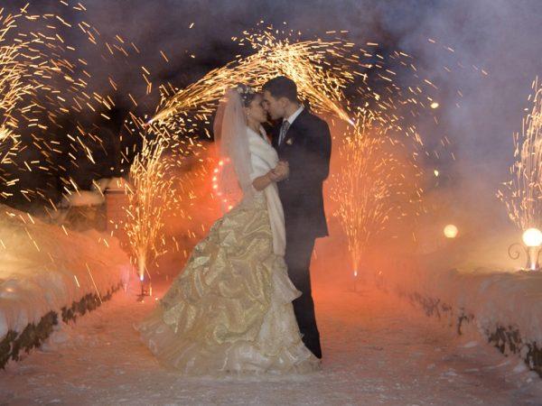 Свадебные фейерверки для незабываемых торжеств