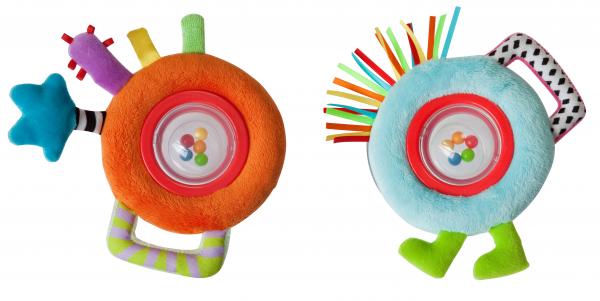 Развитие зрительного восприятия у младенца: погремушки и роль взрослого
