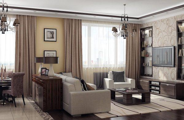 Меблировка гостиной: чтобы всей семье было комфортно