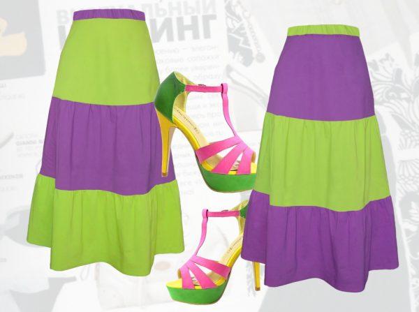 Яркий летний гардероб для женщин с размером 50+