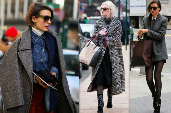 Модный крой пальто 2017
