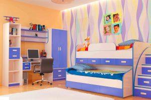 Выбор мебели в детскую для ученика младших классов