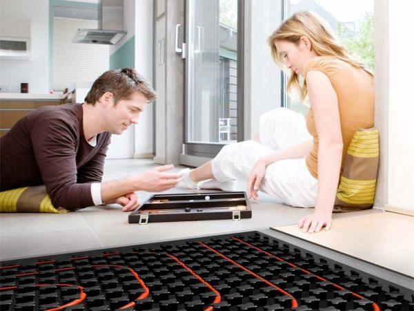 Холодный пол дома и оптимальные решения проблемы: ковры и обогреватели
