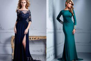 Вечерние платья на Новый год 2016 и значение уместного наряда