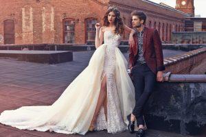 Выбор свадебного платья: короткие и длинные в соответствии с особенностями фигуры