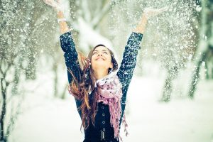 Как зимой выглядеть женственно или секреты утепления