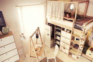 Организация спального места в комнате подростка — один из шагов в ремонте детской